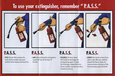 Fire extinguisher use video