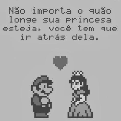 nao importa quao longe princesa esteja