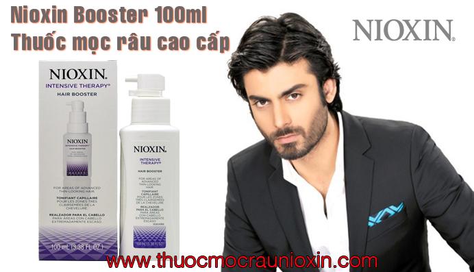 Thuốc mọc râu Nioxin booster cao cấp