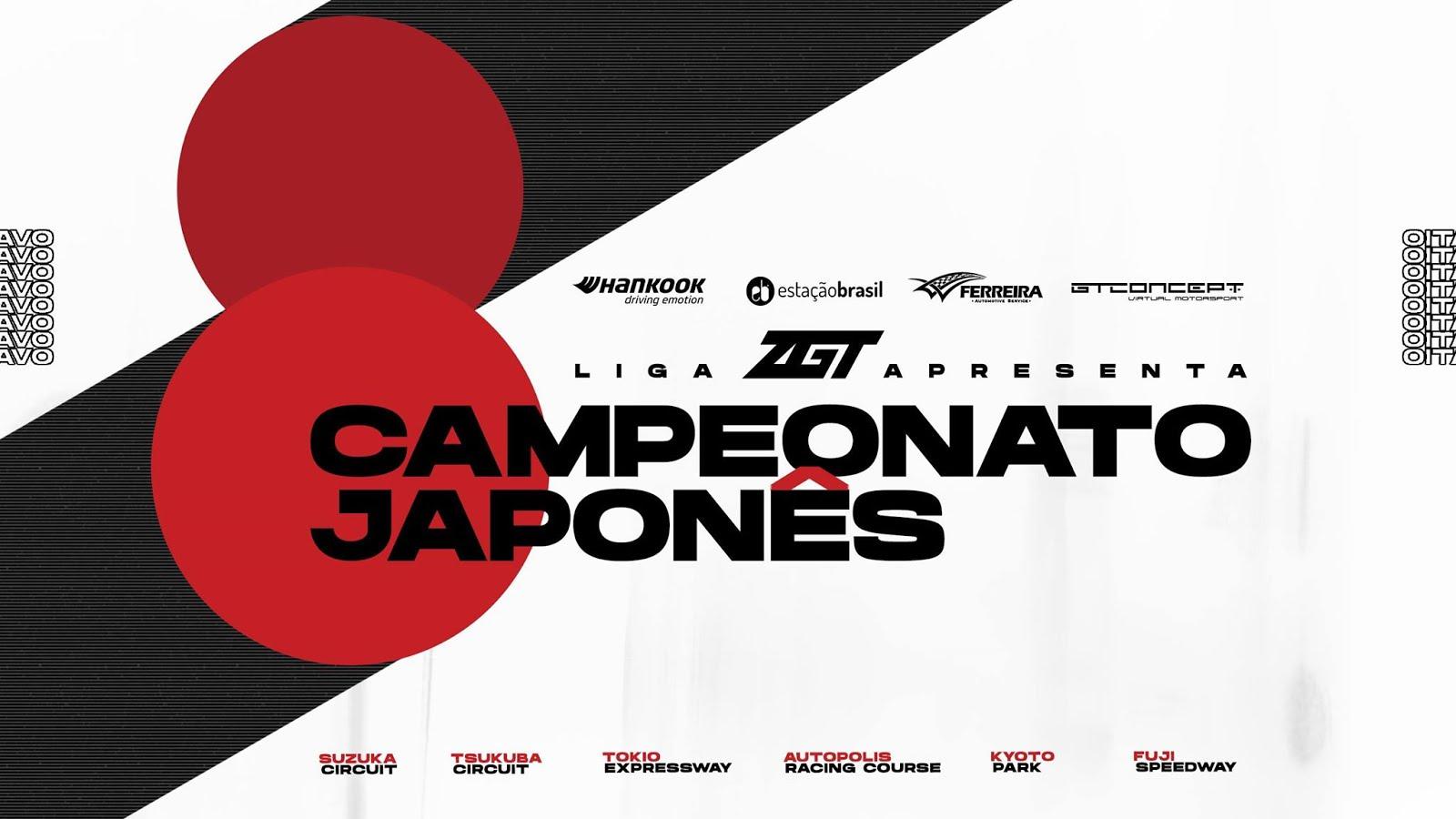 8º CAMPEONATO JAPONÊS REGULAMENTO