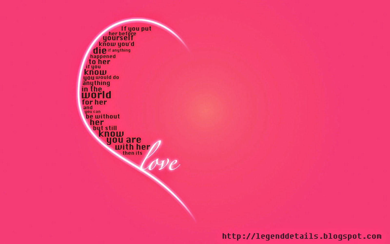 Wallpaper To Express Love : New way to express your Love Legendary Quotes