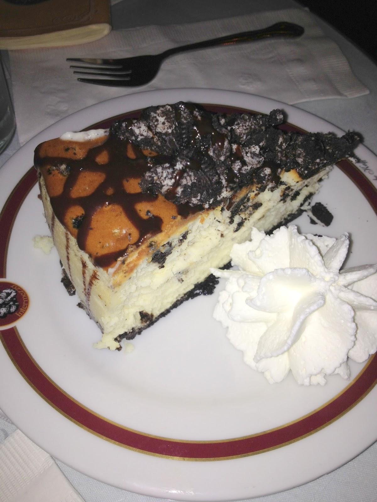 Cafe Intermezzo Atlanta Dessert Menu