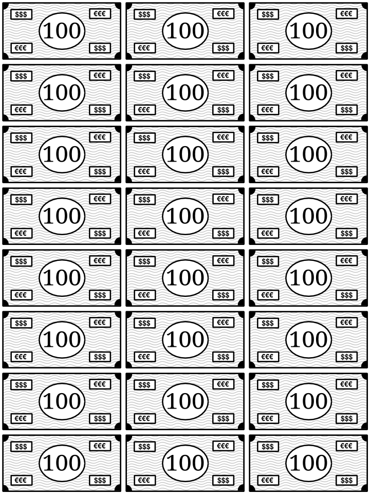 0100_imagenes de billetes para imprimir
