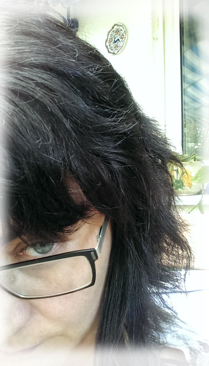 Haare sind strahnig