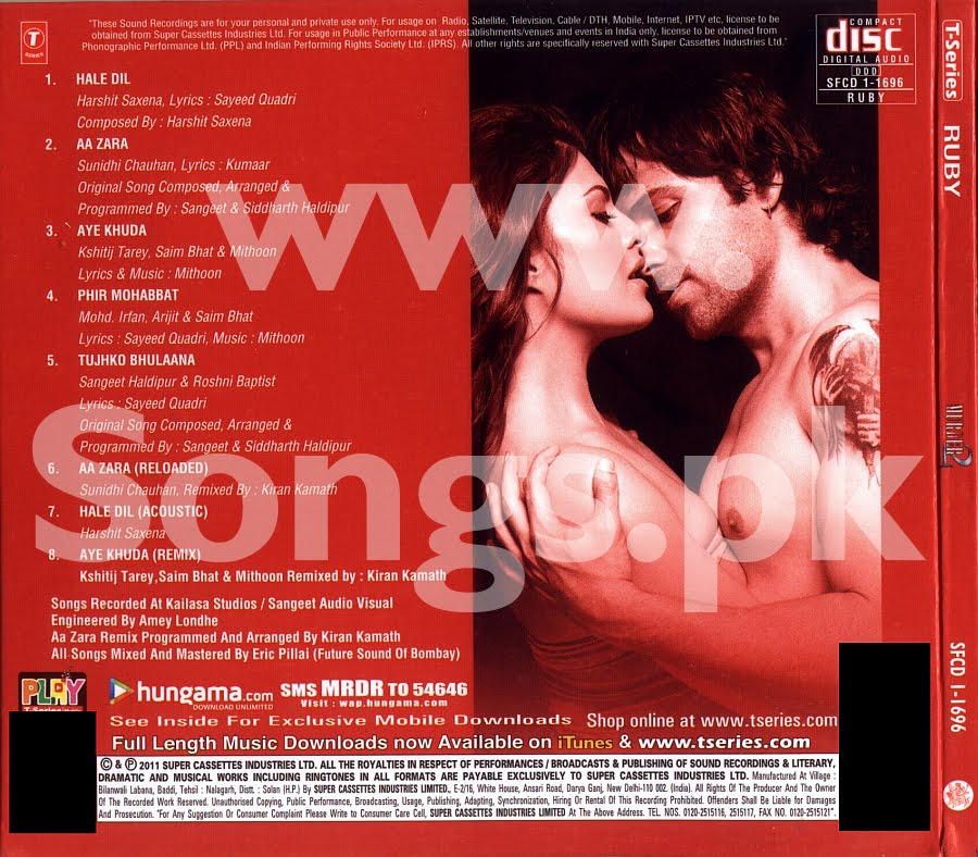 Murder 2 (2011) Hindi Movie Mp3 Songs Download | Mp3wale