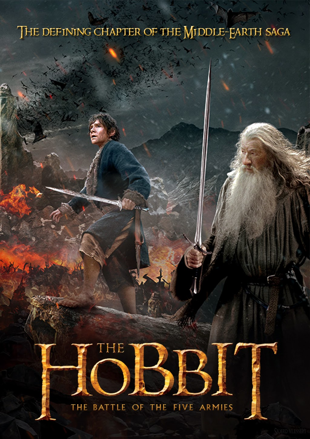 The Hobbit Battle Of Five Armies 2014