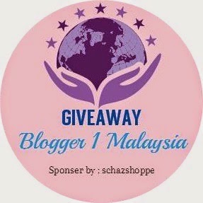 GIVEAWAY : Blogger 1 Malaysia