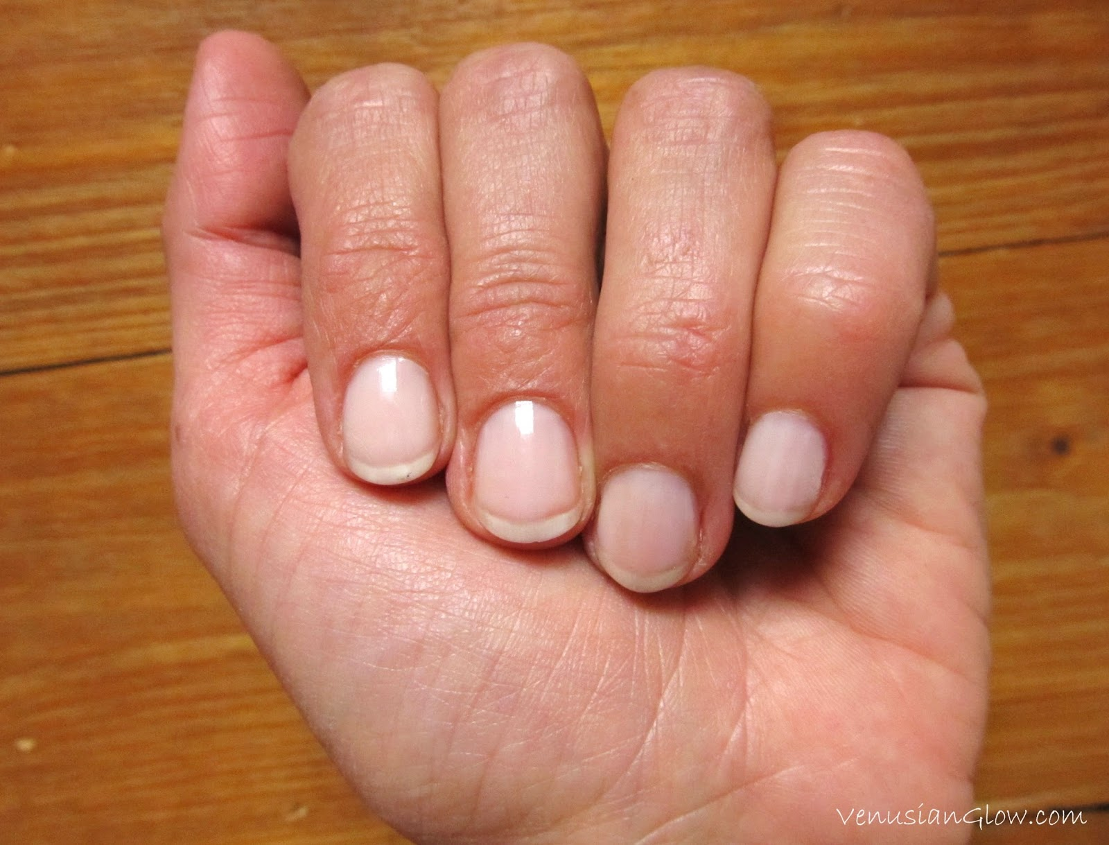 Super Easy Nude Manicure: Essence Studio Nails Hardening Nail Base ...