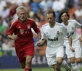 Breitner and Butragueno. Heart Classic Match 2011