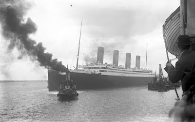RMS Titanic leaving Southampton, 10 April 1912 -Travel Europe Guide | Titanic 100th anniversary