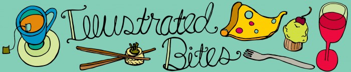 banner of illustrated bites blog