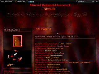 Site de Muriel Roland Darcourt