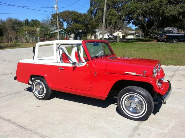 4WD for Sale, 1967 Jeep Jeepster Commando