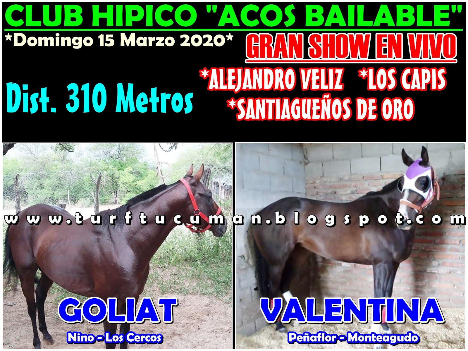 GOLIAT VS VALENTINA