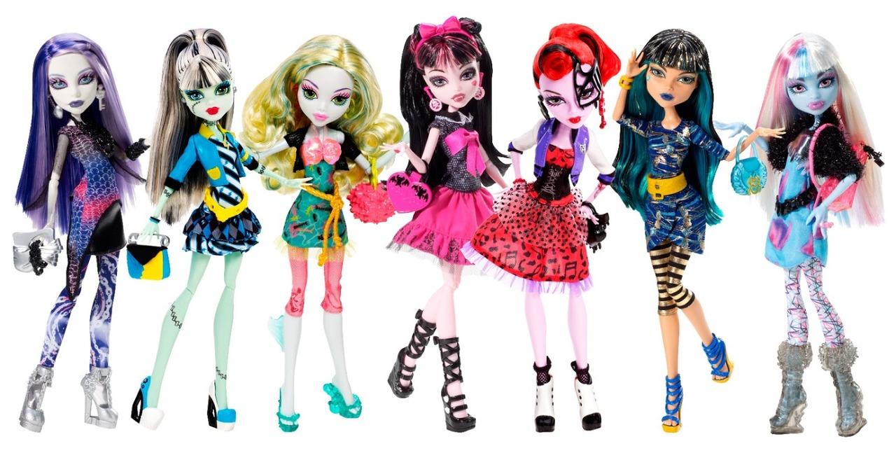 Barbie familia y amigos nuevas monster high en 2013 - Monster high youtube ...
