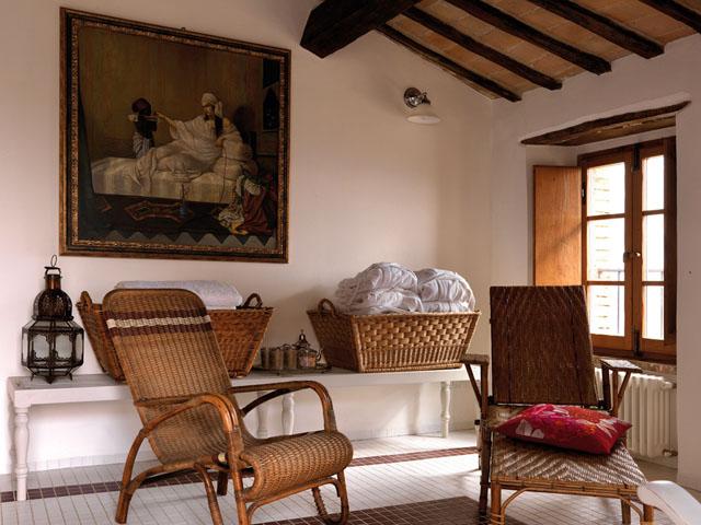 casa rural en italia baño spa