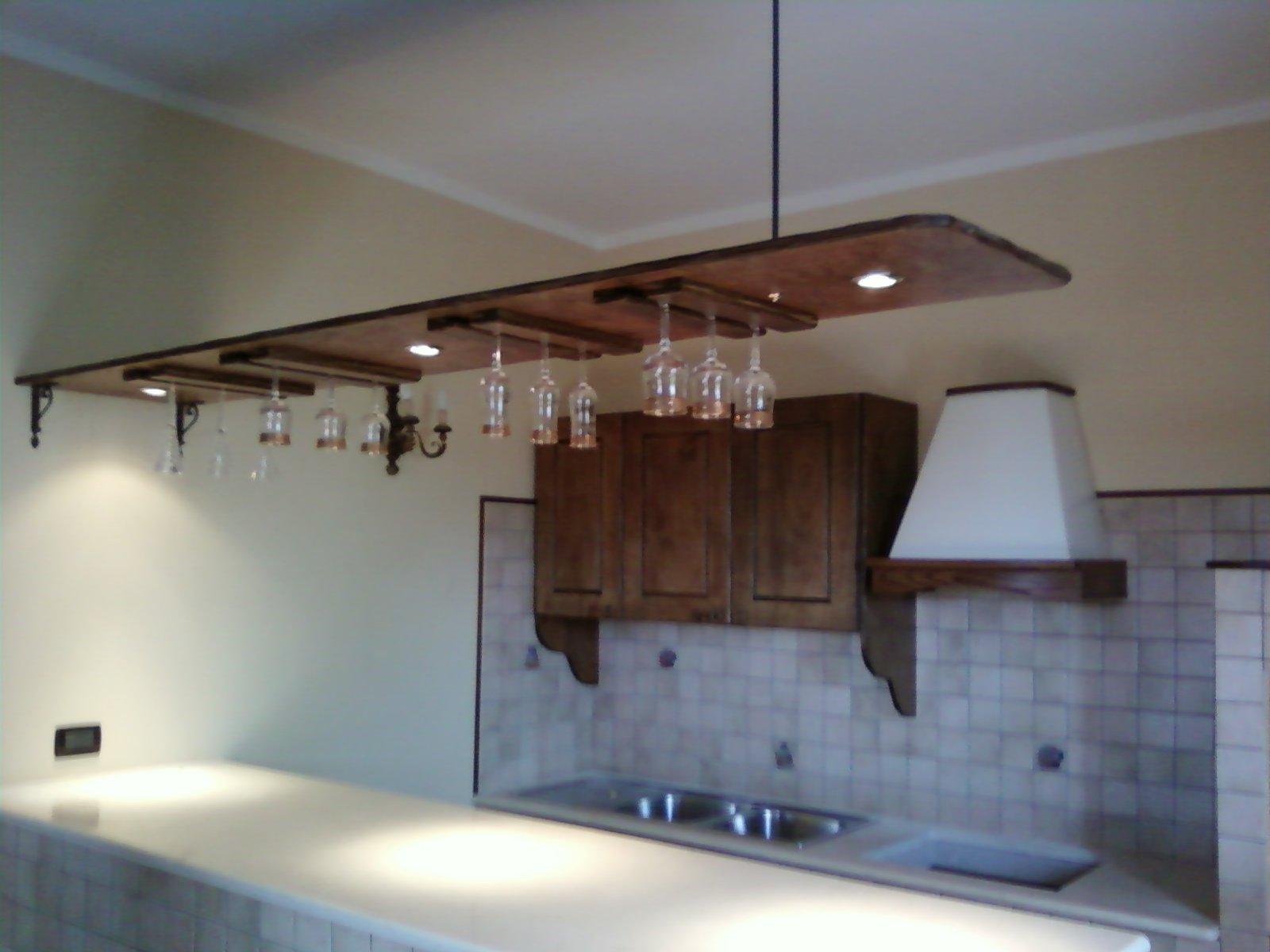 Fai da te hobby legno cucina in muratura - Parete in legno fai da te ...