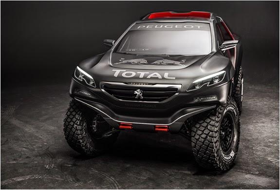 "PEUGEOT 2008 DKR | 2015 Dakar Rally  The (PEUGEOT 2008 DKR) beast carrying Carlos Sainz and Cyril Despres through the harsh terrain of the Dakar Rally. Peugeot has unveiled their ""2015 Dakar Rally"" challenger, ""Peugeot 2008 DKR""."