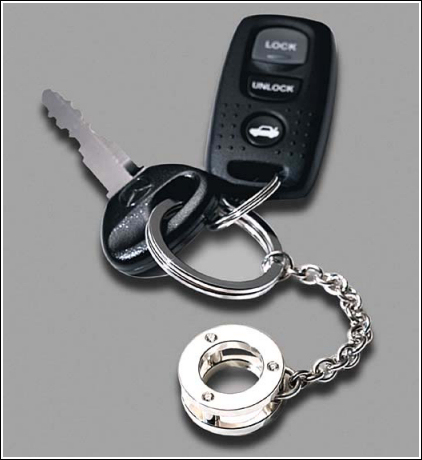 MX-5 Trilogy Keyring