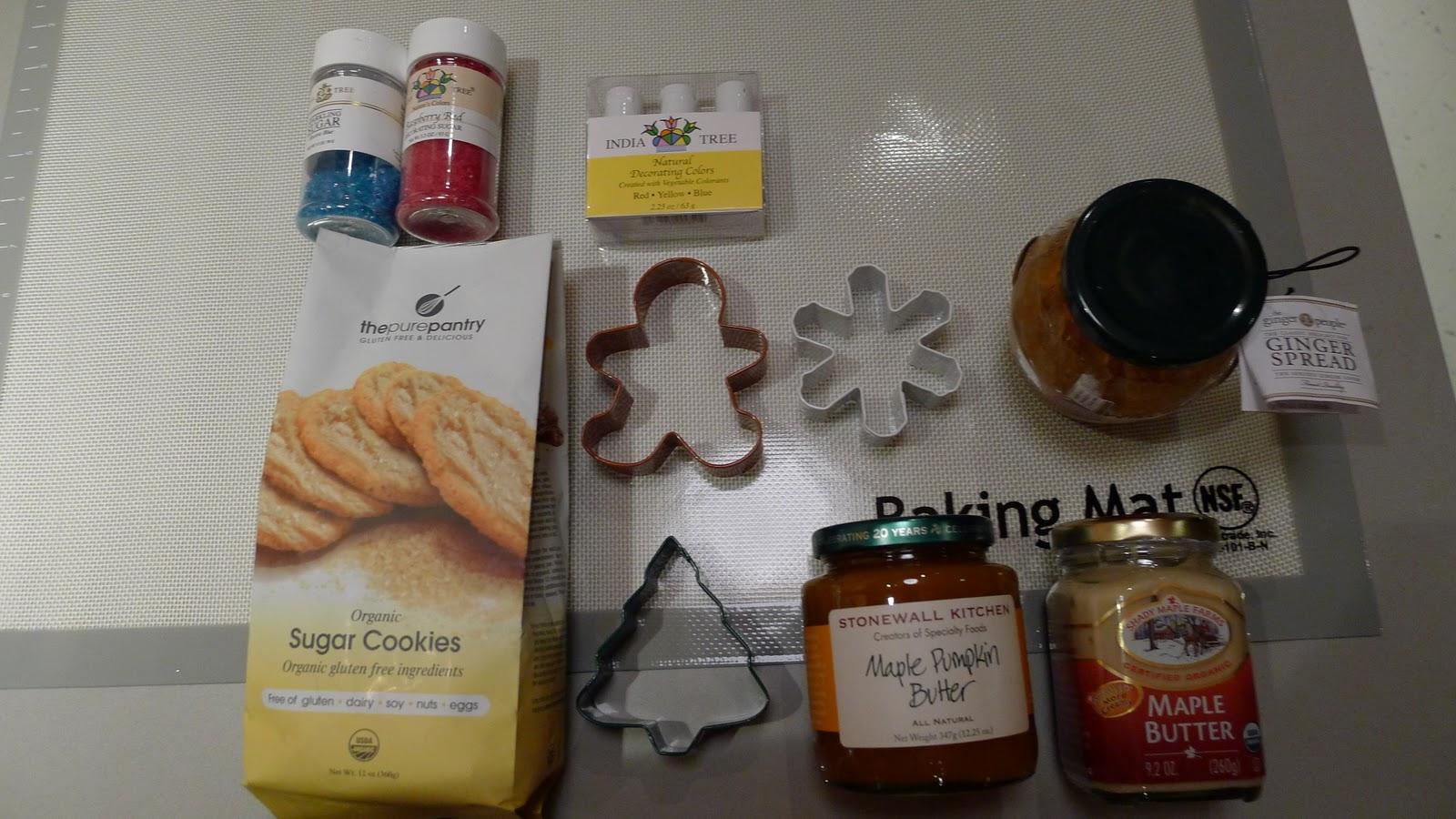 The Healthy Vegans: Fat Free Sugar Chistmas Cookies