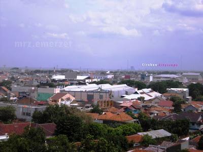 Kota Cirebon Skyline ke arah timur 2011