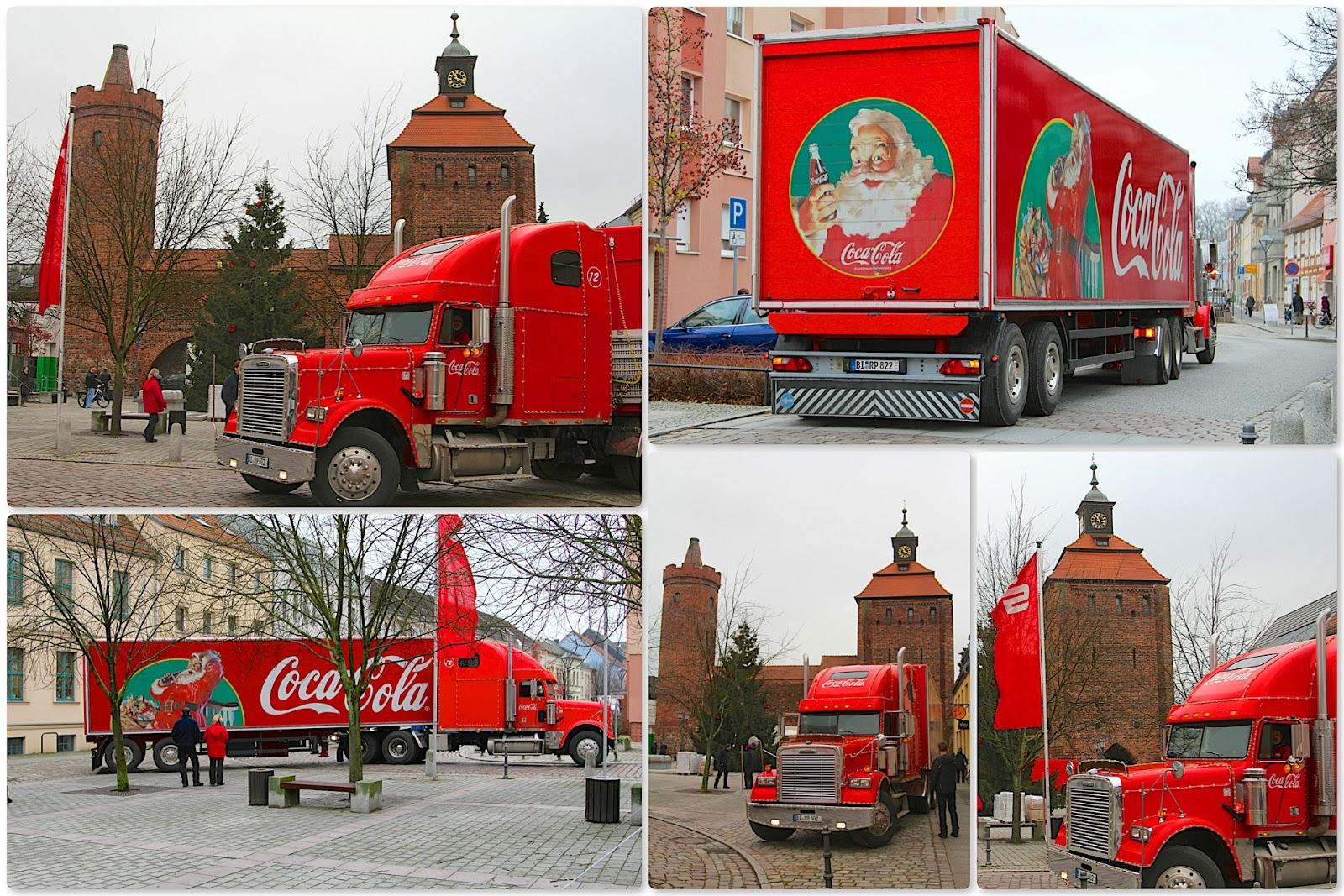 Er Ist Da Coca Cola Weihnachtstruck Willkommen In Bernau Bernau