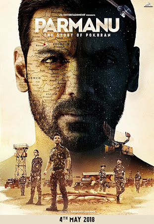 Poster Of Hindi Movie Parmanu: The Story of Pokhran  2018 Full HD Movie Free Download 720P Watch Online