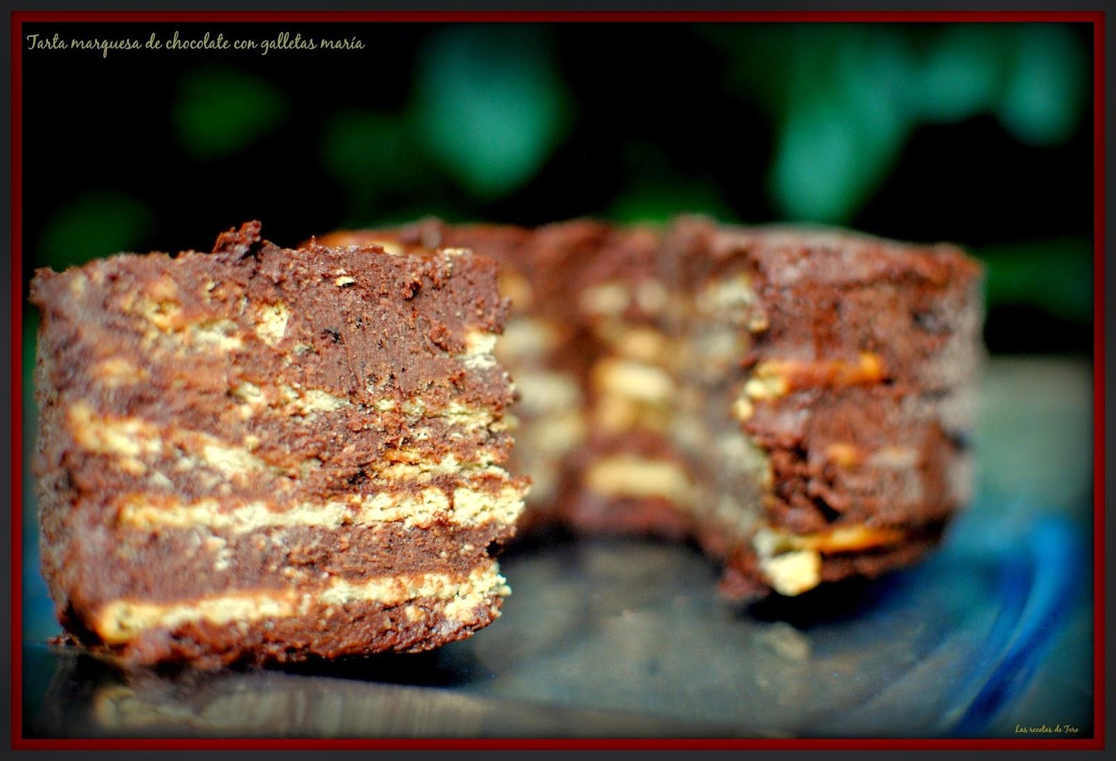 tarta marquesa de chocolate con galletas maría tererecetas 06