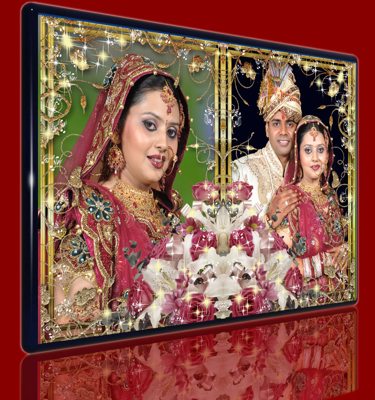 WEDDING FRAMES PSD & PNG