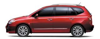2012 Kia Rondo molten red