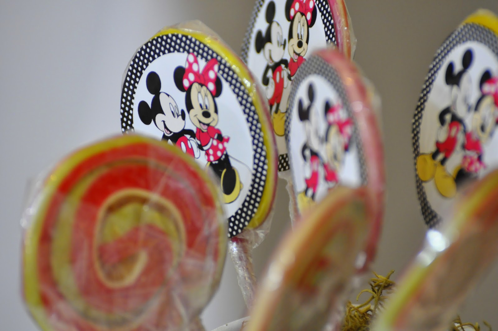 Cumpleaños temático de Mickey y Minnie