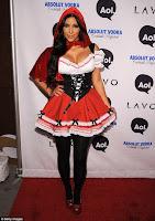 Kim Kardashian's Sauciest Halloween Costumes