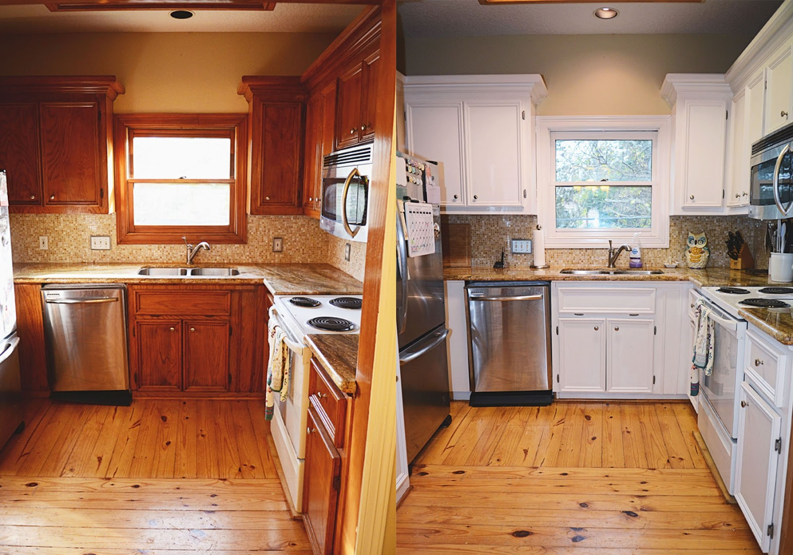 Ordinaire Kitchen Redo | Rustoleum Cabinet Transformation