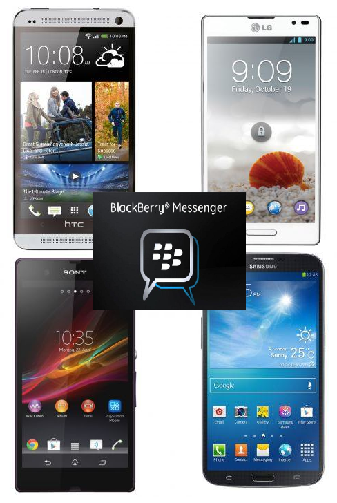Handphone Android yang Bisa BBM