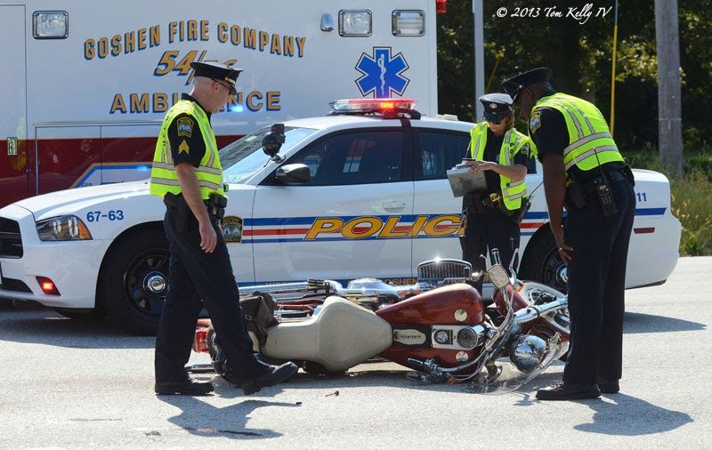 East Goshen Motorcycle Crash on Route 3