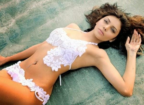 Sherlyn Chopra - Hot in Bikini HQ Wallpapers