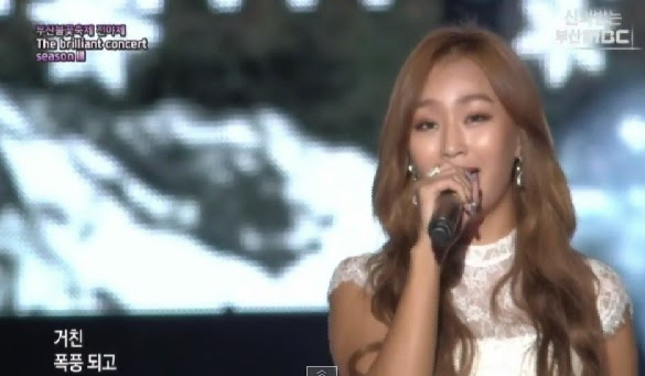 SISTAR's Hyorin performs 'Let It Go' at The Brilliant Concert