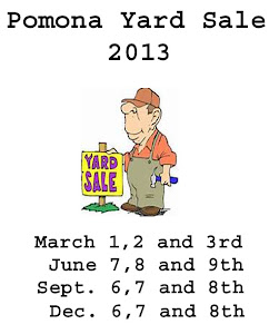 Pomona Yard Sale 2013