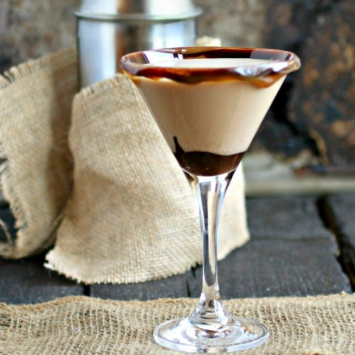 Chocolate and Peanut Butter Martini