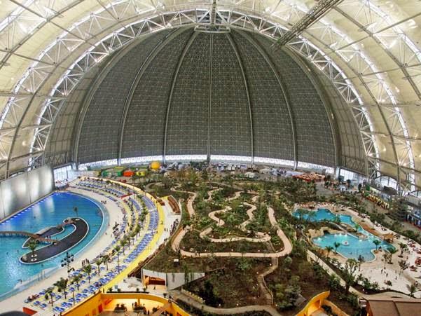 99 wow huge indoor tropical forest beach in germany - Indoor swimming pool berlin ...
