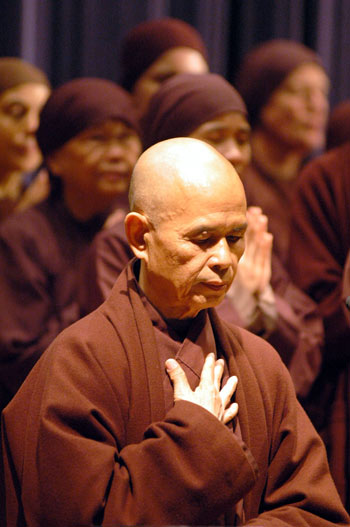 how to eat thich nhat hanh