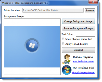 free image background change software