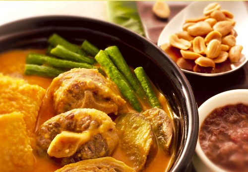 Kare Kare With Peanuts And Bagoong