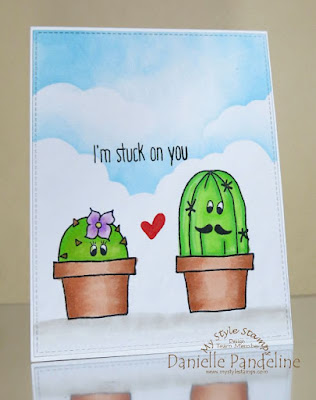 I'm Stuck On You | My Style Stamps | Created by Danielle Pandeline
