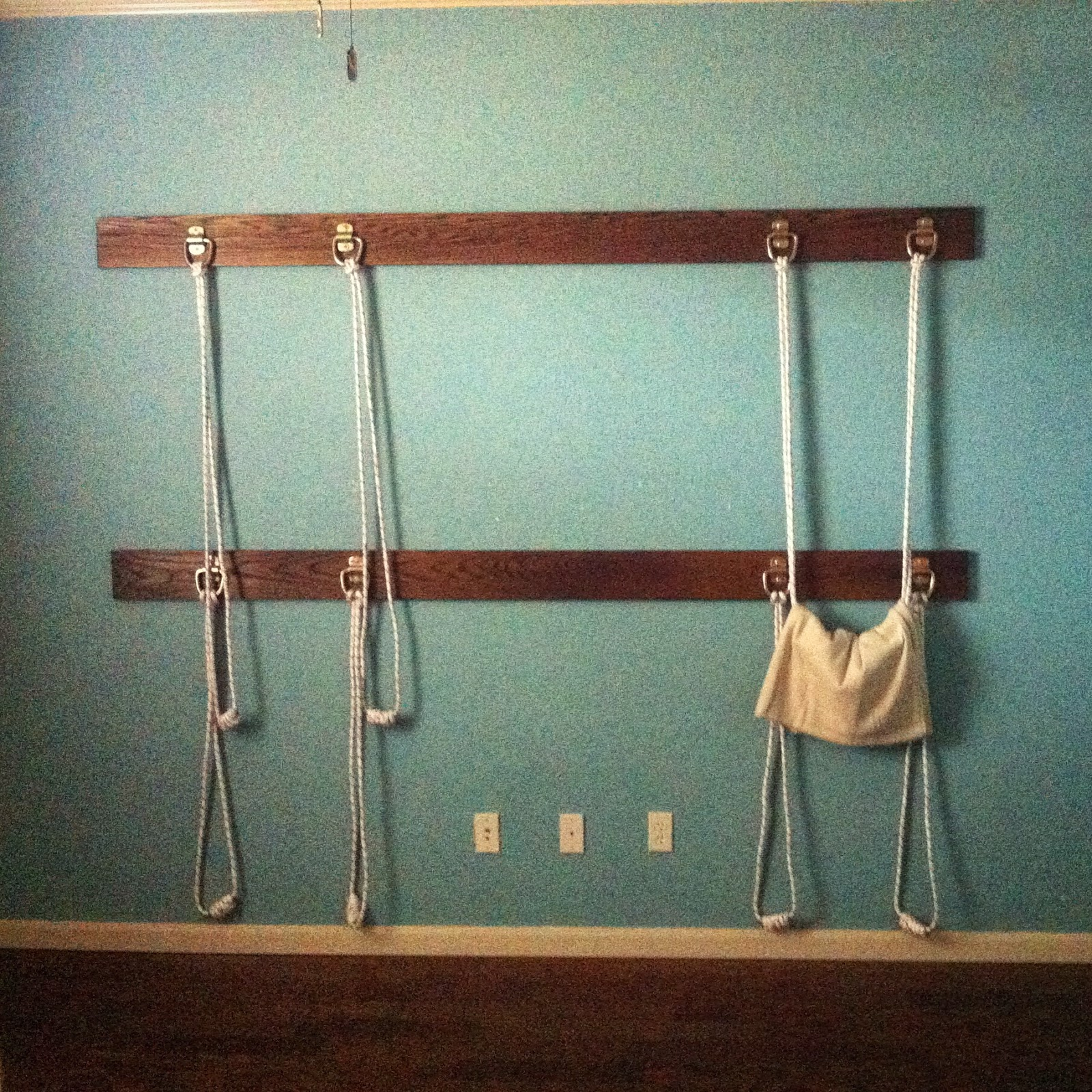 Fun with props diy rope wall for How to make a rope wall