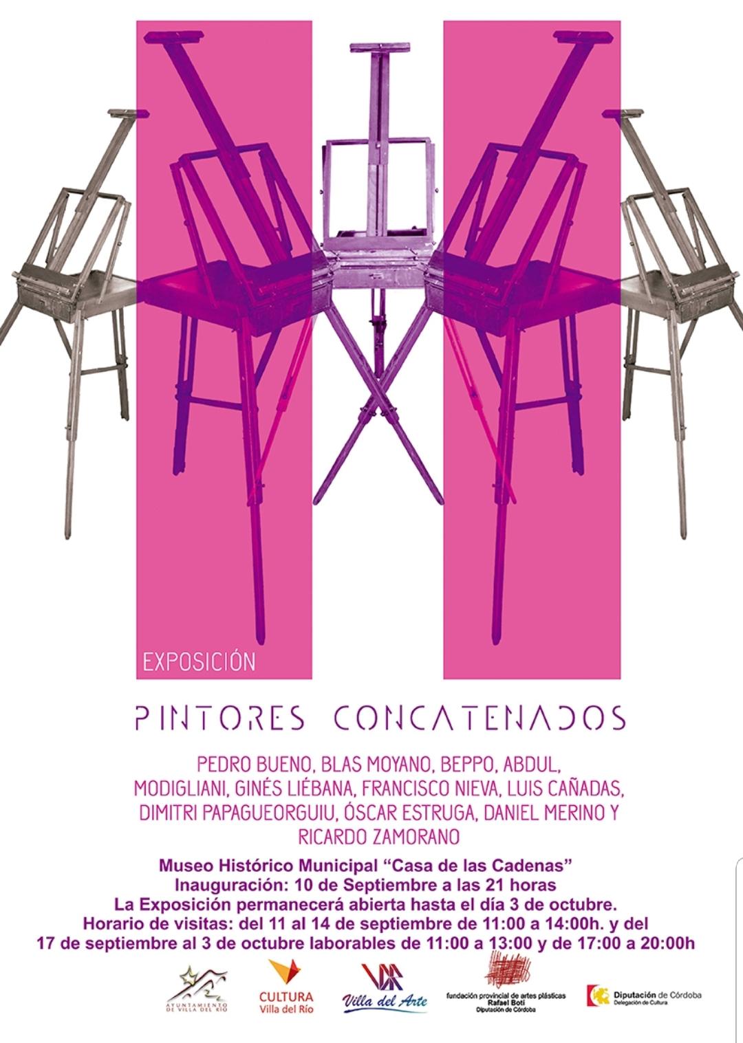 """EXPOSICIÓN """"Pintores Concatenados"""""""