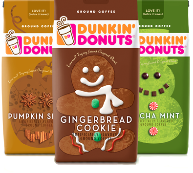 dunkin1 Dunkin Donuts Ground Coffee Coupons