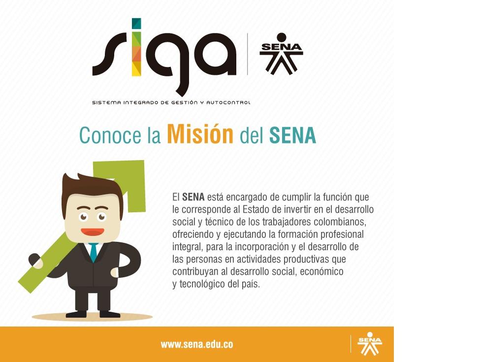 Misión del SENA