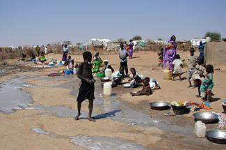 يسهم نقص المياه و اختلال جودتها في تدهور الصحة وانخفاض مستوى النظافة الشخصية