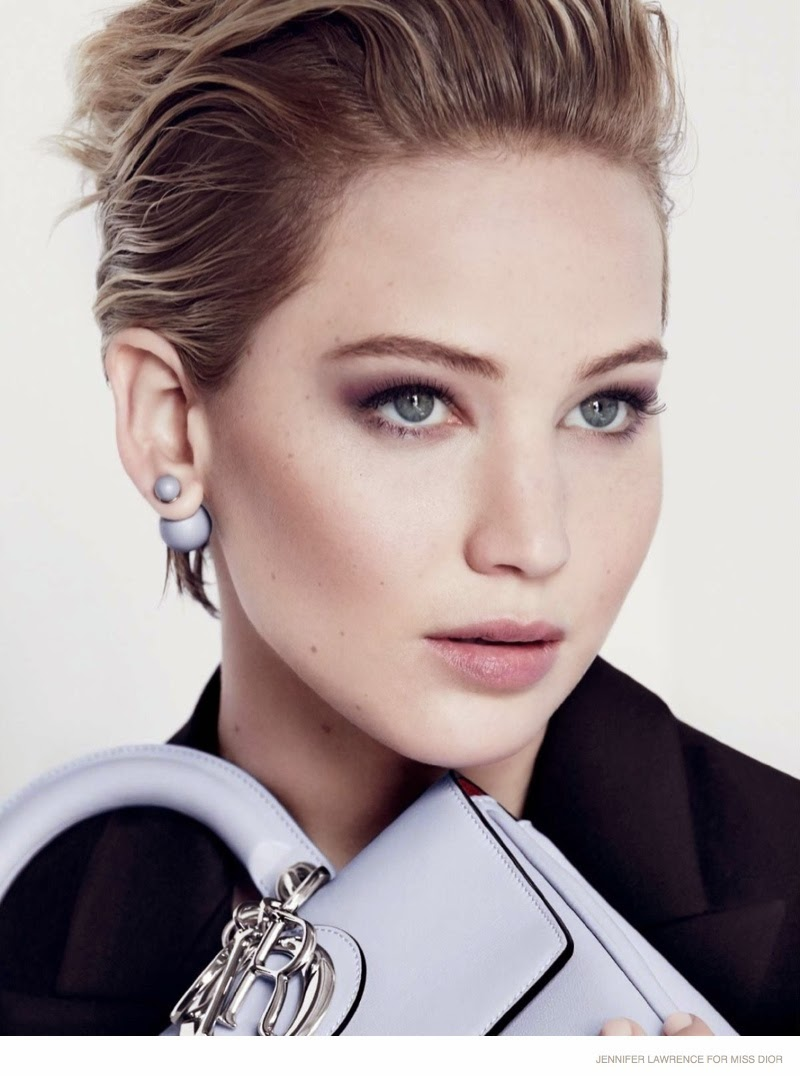Jennifer Lawrence stars for the Miss Dior Fall/Winter 2014 Campaign